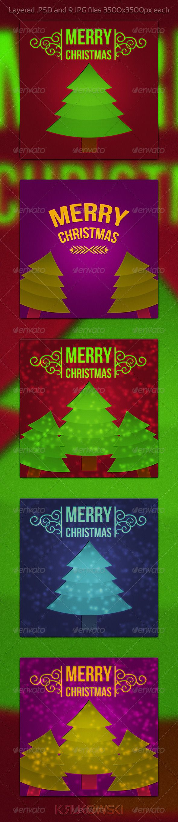 Digital banner design for psd files - Christmas Psd Background