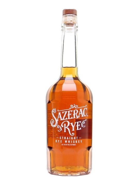 Sazerac Rye : Buy Online - The Whisky Exchange - Sazerac is a terrific spicy rye from Buffalo Trace in a great old-time bottle.  We understand this to be six years old.  Great in a Manhattan, especially with Carpano's Antica Formula vermouth.   W...