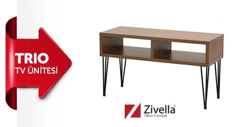 Hafta sonu tv izlemek daha keyifli olacak! Zivella'nın şık ve kullanım rahatlığı sunan TRIO Tv ünitesi ile hem evinizde hem de ofisinizde kullanabilirsiniz. http://shop.zivella.net/TRIO_TV_UNITESI-63,1440.html#.VRUdGfmsU6w #officefurniture #design #ergonomics