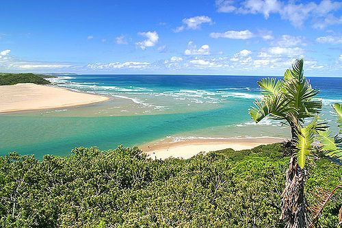 Kei River Mouth from Signal Hill   by garethphoto