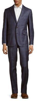 Robert Graham Plaid Wool Suit