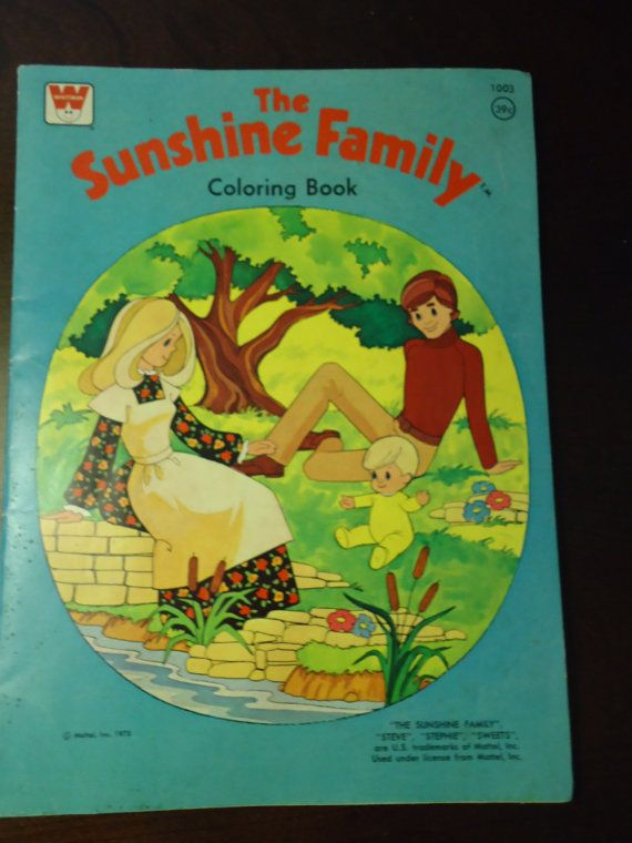 Sunshine family!!! Again, self entertaining kid.  Colored for hours.