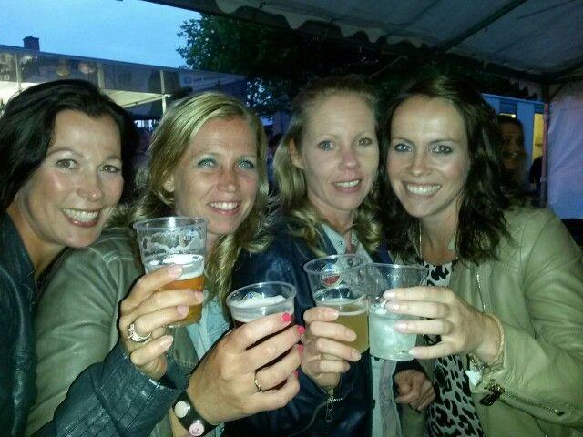 Having fun at the fair in Hapert!