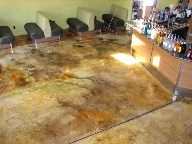 33 best flooring images on pinterest flooring concrete for Decorative concrete floors