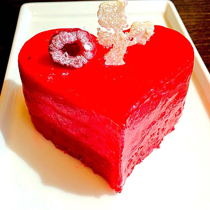Red cheesecake!