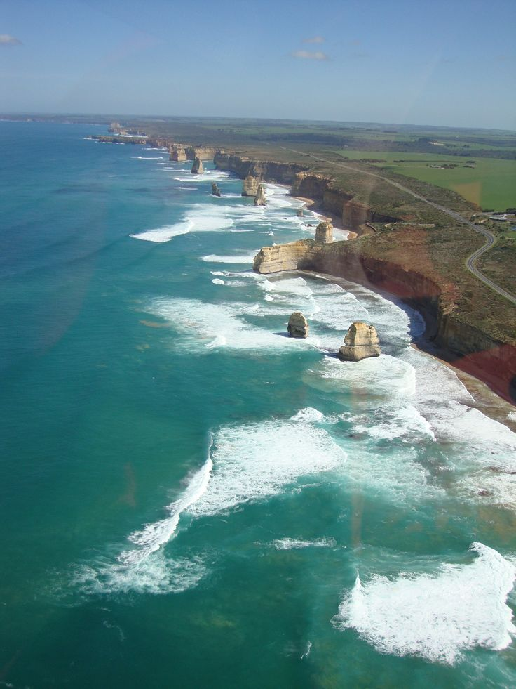 The Great Ocean Road.  From Torquay to Warrnambool the Great Ocean Road is the longest war memorial in Australia, appx. 152 miles.  It was built after WWI by returned Servicemen.  AUSTRALIA