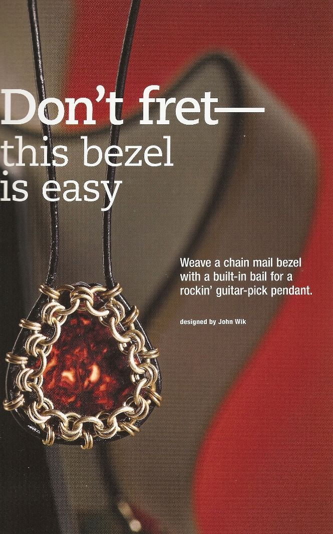 Book Review - Creative Chain Mail Jewelry - The Beading Gem's Journal