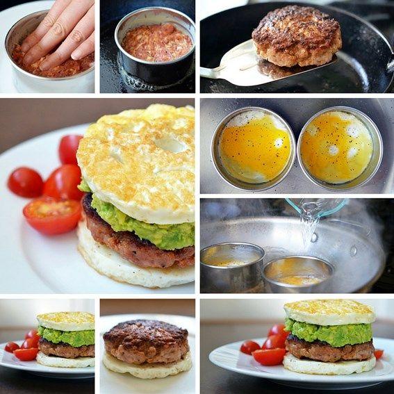 Koolhydraatarme mc muffin #LowCarb #PowerSlim #MCMuffin