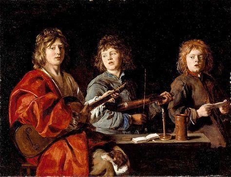 Antoine Le Nain, Three Young Musicians Lacma
