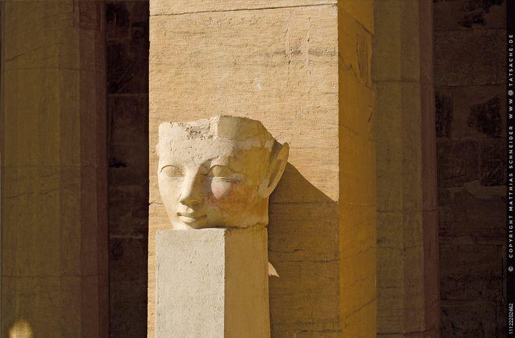 Kopf der Pharaonin Hatschepsut