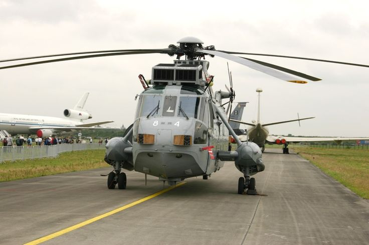 The Westland WS-61 Sea King is a British licence-built version of the American Sikorsky S-61 helicopter of the same name, built by Westland Helicopters