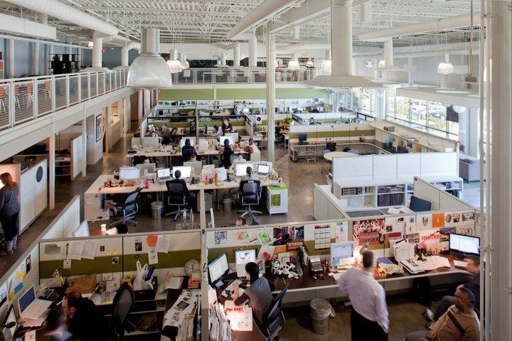 Open Concept Office Design Classy Design Ideas