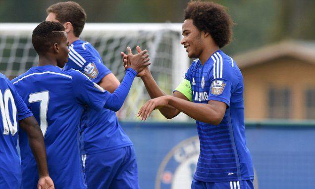 Chelsea Under 19 4-1 Schalke Under 19: Isaiah Brown scores brace