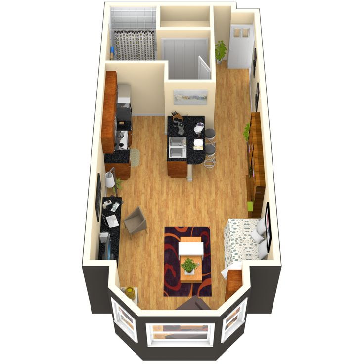 Apartments half garage single level studio 1 and 2 - Two bedroom apartments san francisco ...