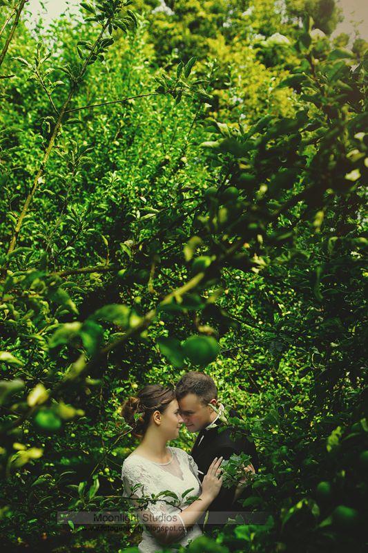Alicja i Michał, sesja ślubna w zieleniach, Chełm, Moonlight Studios Robert & Iza