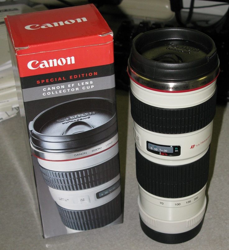 I want this really bad... Canon 70-200mm F/4L  Lens  Mug!.