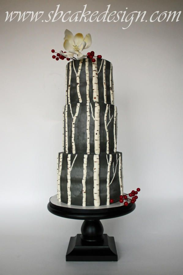 Aspen Love - Cake by SB Cake Design