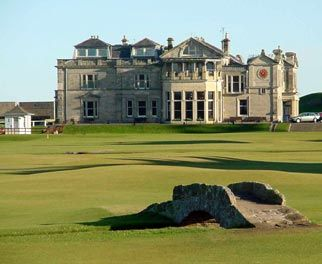 St. Andrews. Not that I particularly enjoy golf, but it was a very beautiful course.