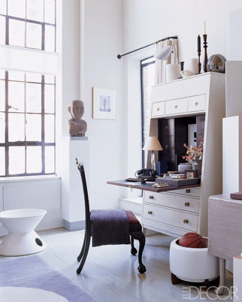 bachelor pads: Decor, Hickory Chair, Workspace, Interiors, Home Office, Living Room