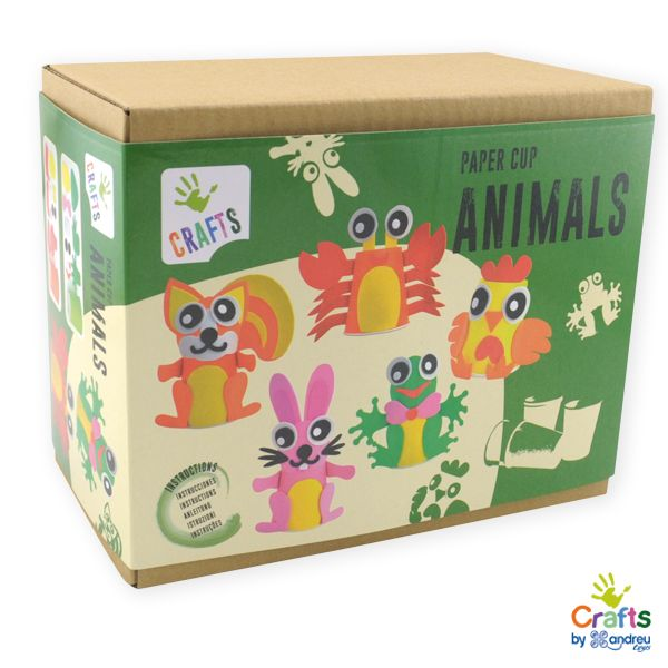AndreuToys - Paper Cup Animals