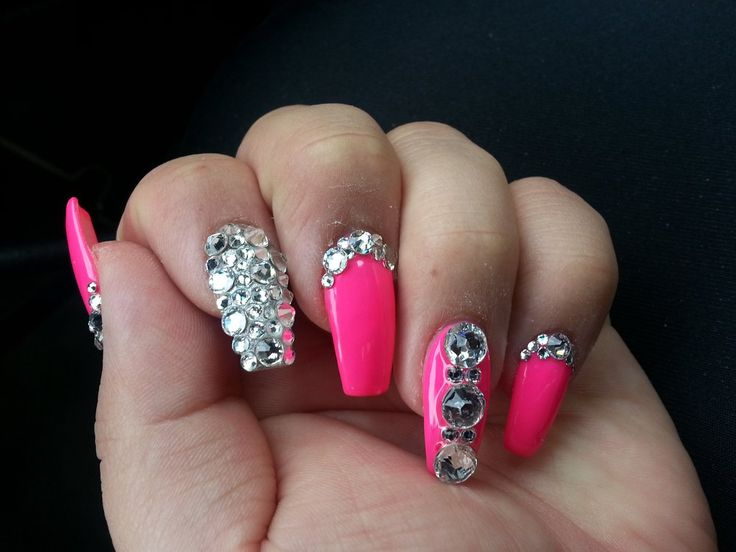 3D Nails - Upland, CA, United States. love my nails by Lisa!!!
