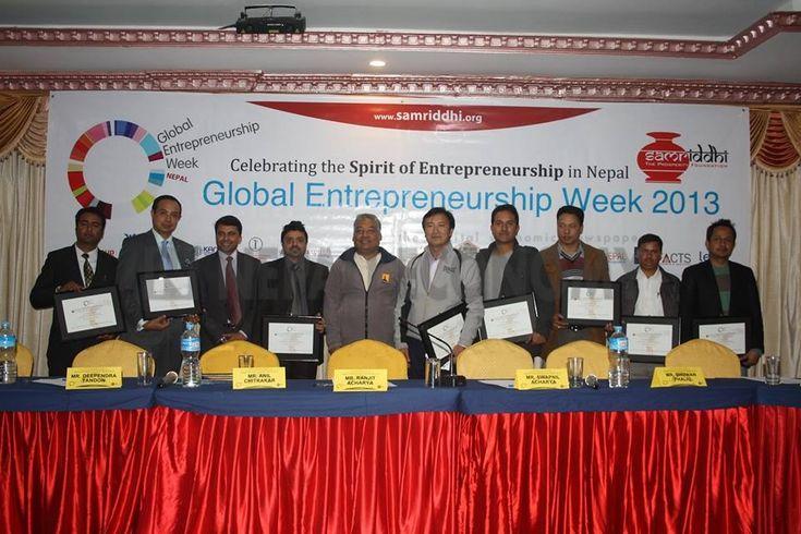 Global Entrepreneurship Week celebrated, entrepreneurs felicitated | Nepali Economy