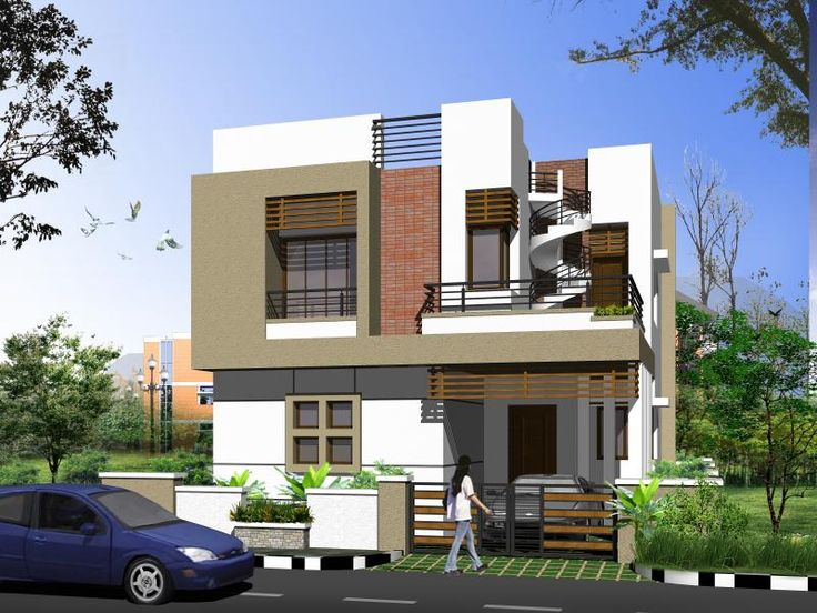 37 best house elevation 3d elevation 3d home view images for Home design 3d view
