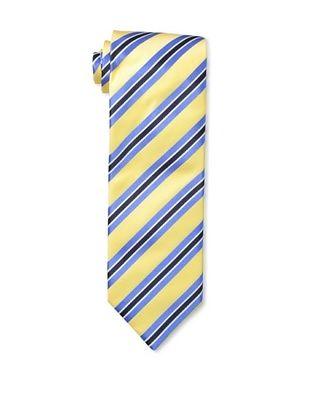 61% OFF Massimo Bizzocchi Men's Triple Stripe Tie, Yellow