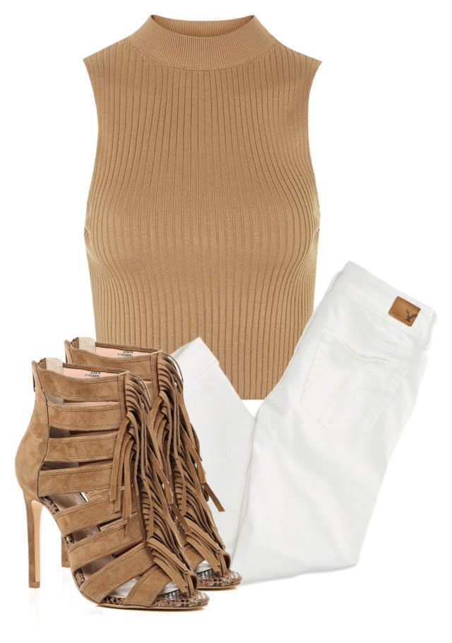"""Untitled #2907"" by xirix ❤ liked on Polyvore featuring Topshop, American Eagle Outfitters and River Island"