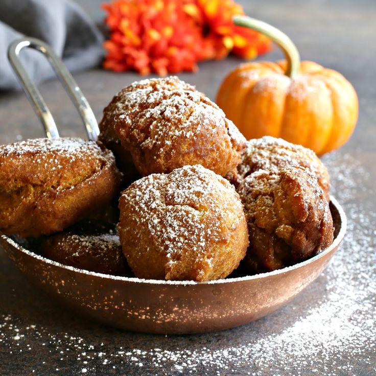 Sweet Pumpkin Fritters