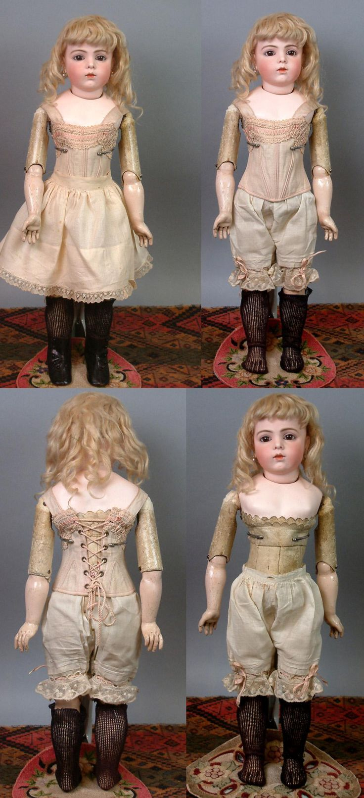 "Stunning Somber 22"" Bebe Bru Jeune Excellent Condition~ Outstanding from kathylibratysantiques on Ruby Lane"