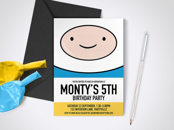 Hey, I found this really awesome Etsy listing at https://www.etsy.com/listing/248924966/adventure-time-finn-printable-party