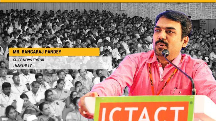Rangaraj Pandey, Chief NEWS Editor, Thanthi TV Awesome <3 <3 Inspiring speech on Entrepreneurship :) (y)  Video in Tamil