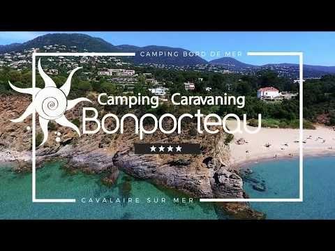 4* campsite & caravan park at Cavalaire in the Var - Bonporteau