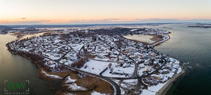 Drone photo of Great Neck Ipswich Massachusetts BDW Photography