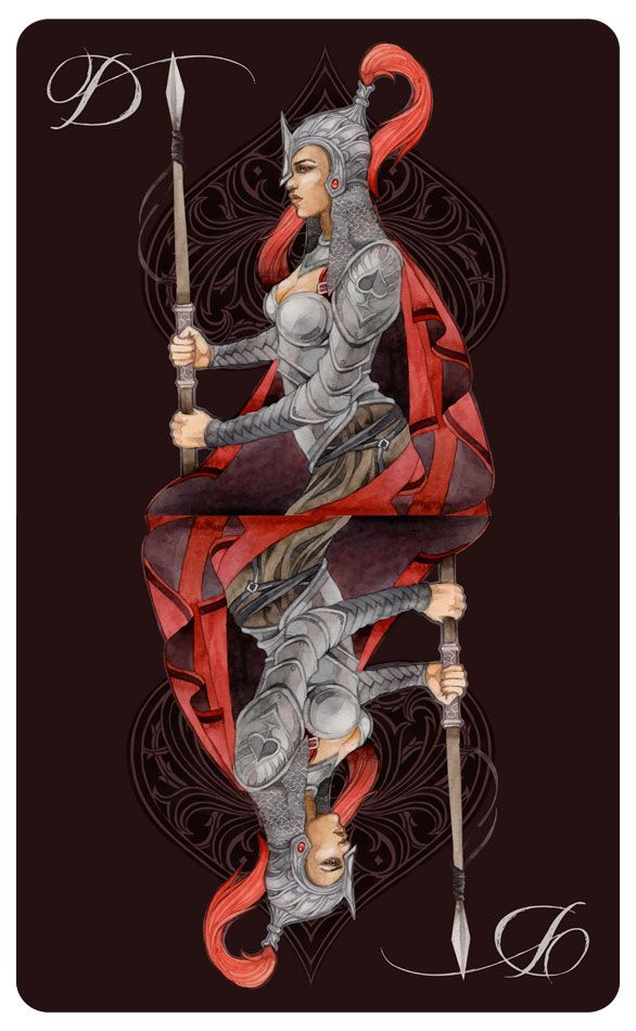 - The Queen of Spades - by *Losenko on deviantART