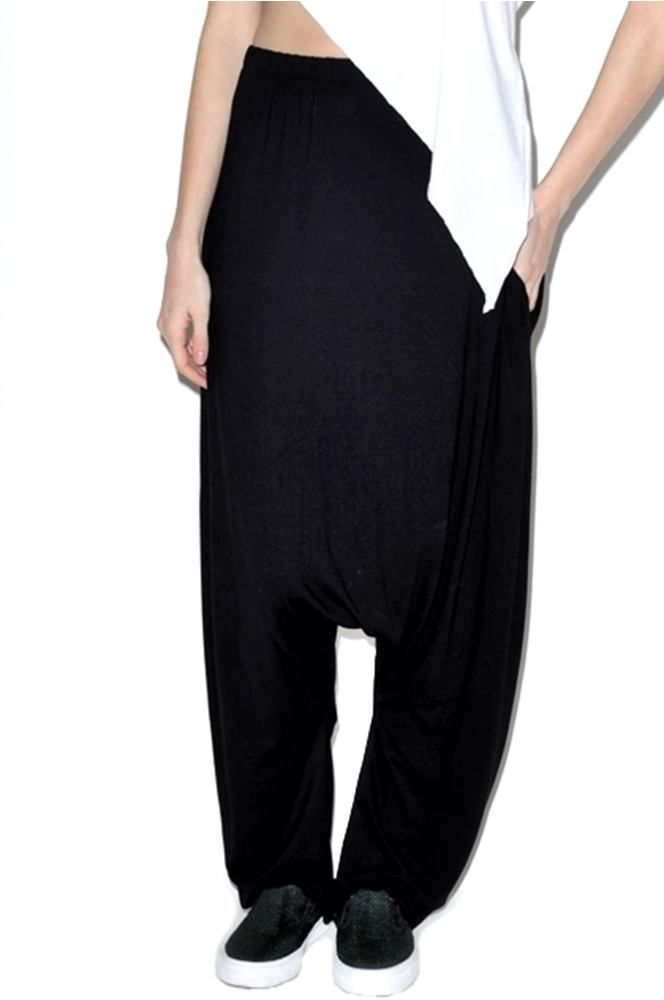 Black Loose Trousers