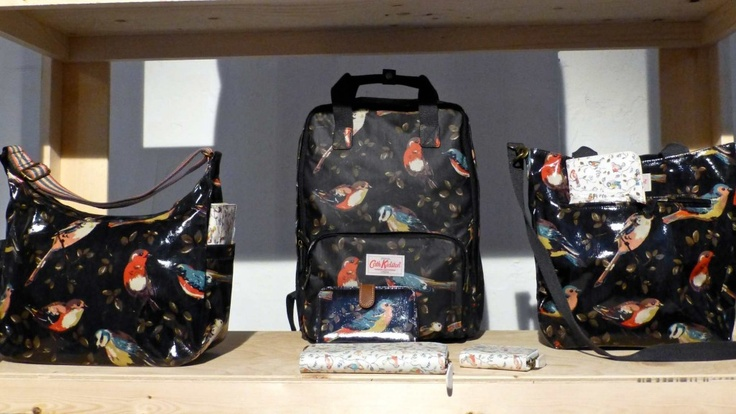 The new bird print in black at Cath Kidston for winter 2013: Birds Prints, Kids Style, Bird Prints, Cath Kidston, Winter 2013