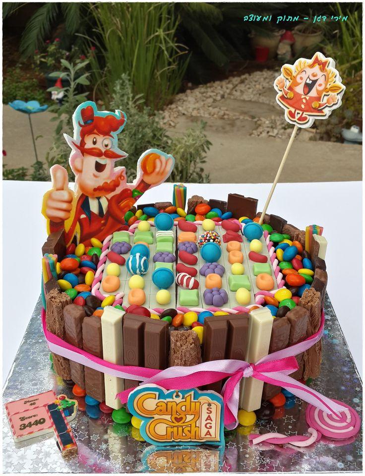 Candy crush cake love it