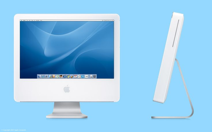 iMac G5 ...first generation not so good