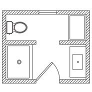 9x7 Kohler Floor Plan Options Bathroom Ideas