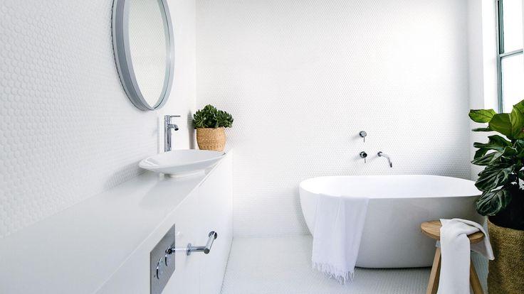 Bathroom by C+M Studio. Photography by Caroline McCredie.