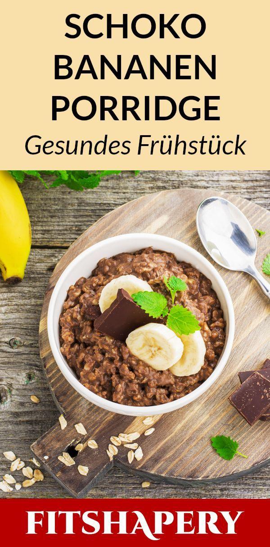 Dieses Schoko Porridge ist zuckerfrei und eines der leckersten Rezepte mit Hafer…