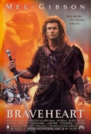 Braveheart (1995) -  When his secret bride is executed for assaulting an English soldier who tried to rape her, William Wallace begins a revolt against King Edward I of England. Director: Mel Gibson Writer: Randall Wallace Stars: Mel Gibson, Sophie Marceau, Patrick McGoohan