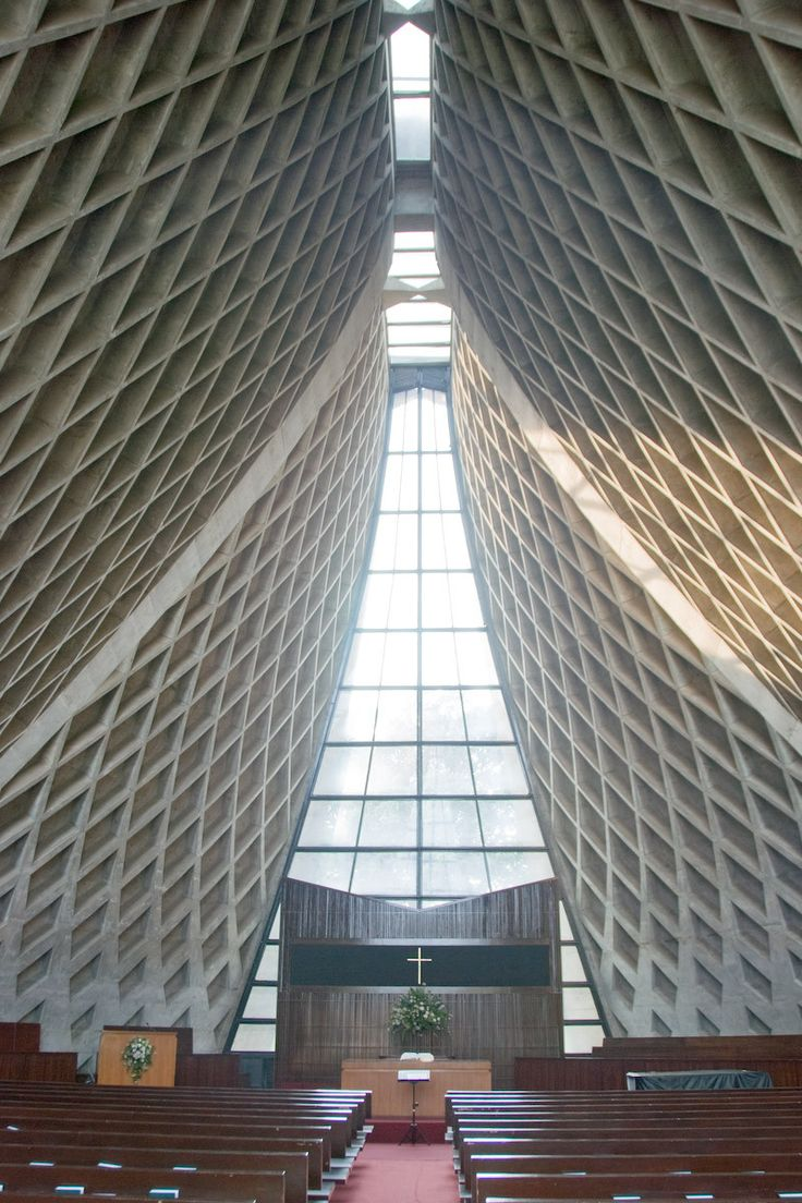 Image 3 of 7 from gallery of AD Classics: Luce Memorial Chapel / I.M. Pei. Photograph by Anonymous Blogger