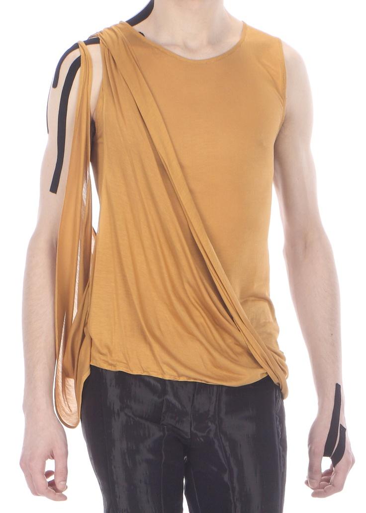 Detail: draped top ( silk jersey)