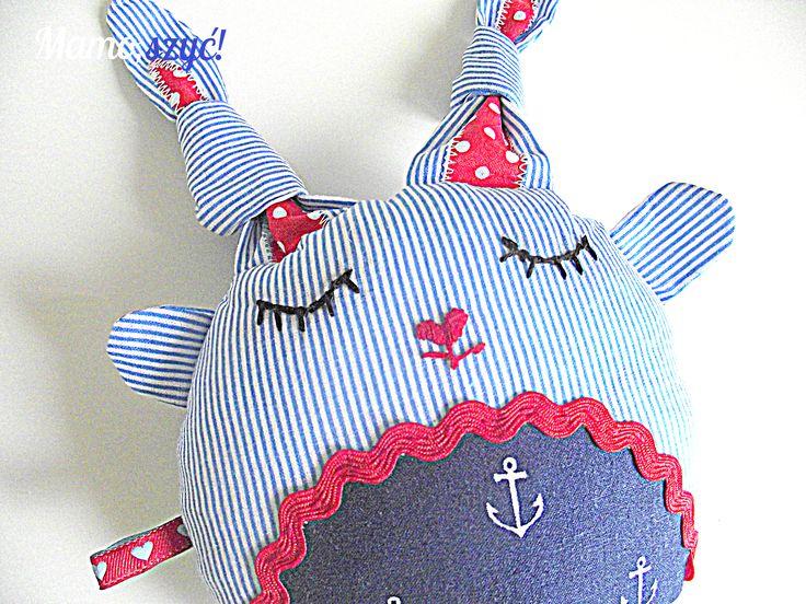fabric toy http://mamoszyc.blogspot.com/2014/07/welcome-to-gizycko-powitalny-prezent.html