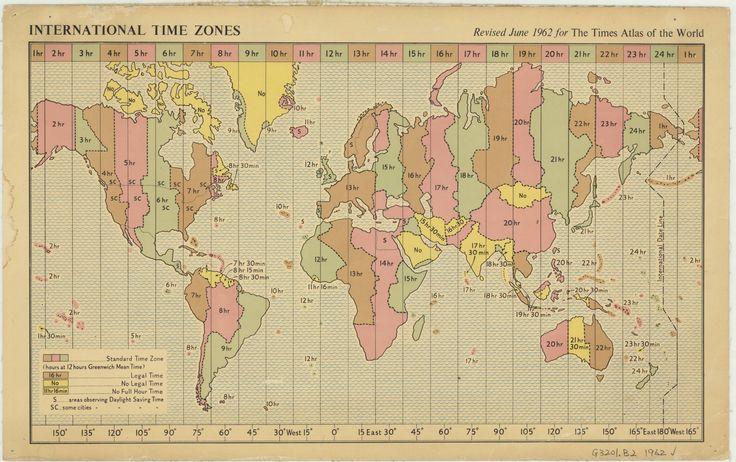 International Time Zones [1962]