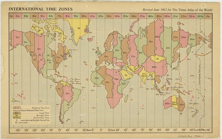 International Time Zones (1962)