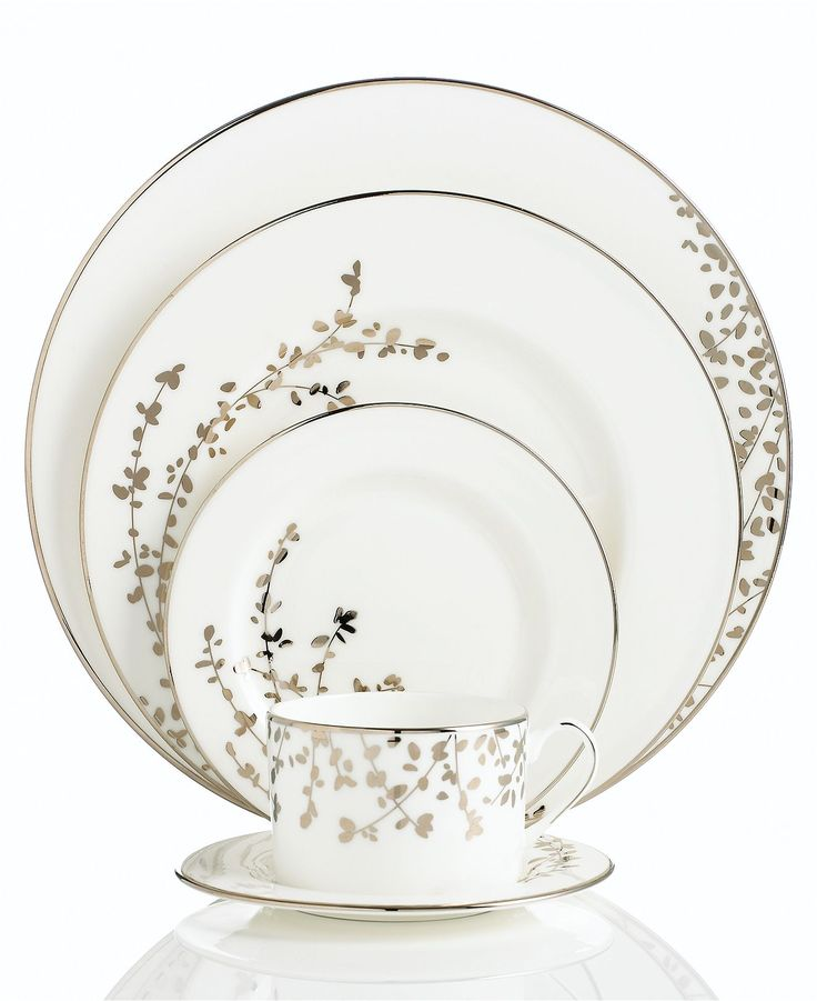 Kate Spade NY Dinnerware: Street Platinum, Place Sets, York Gardner, Fine China, Piece Place, Gardner Street, New York, York Dinnerware, Kate Spade